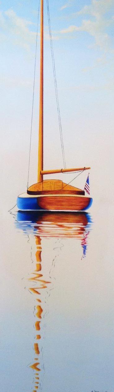 Navy Catboat, 36x12