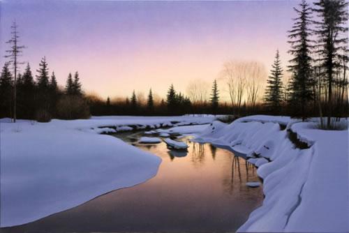 Daybreak, 24x36
