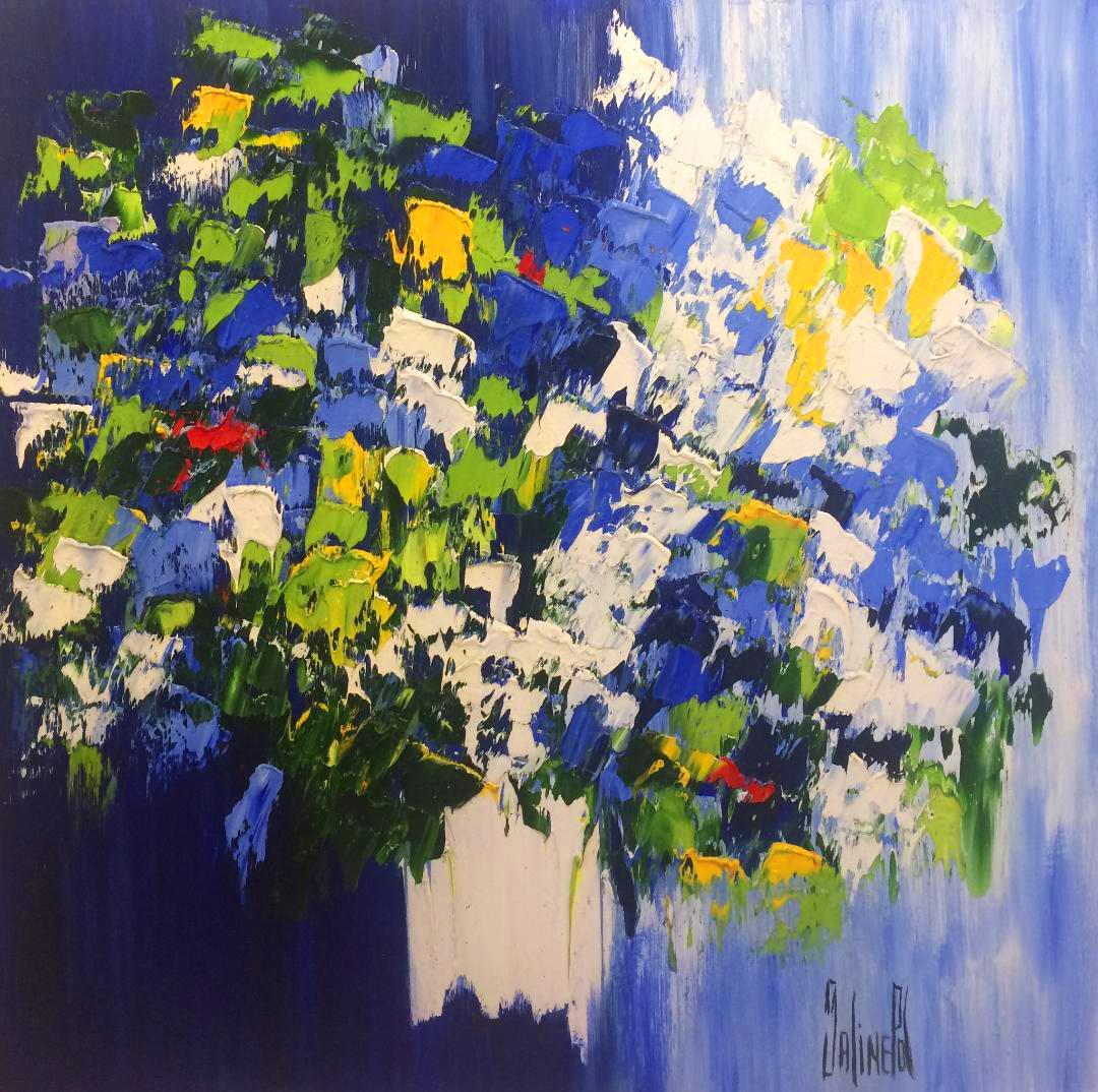 Sprays of Flowers, 32x32
