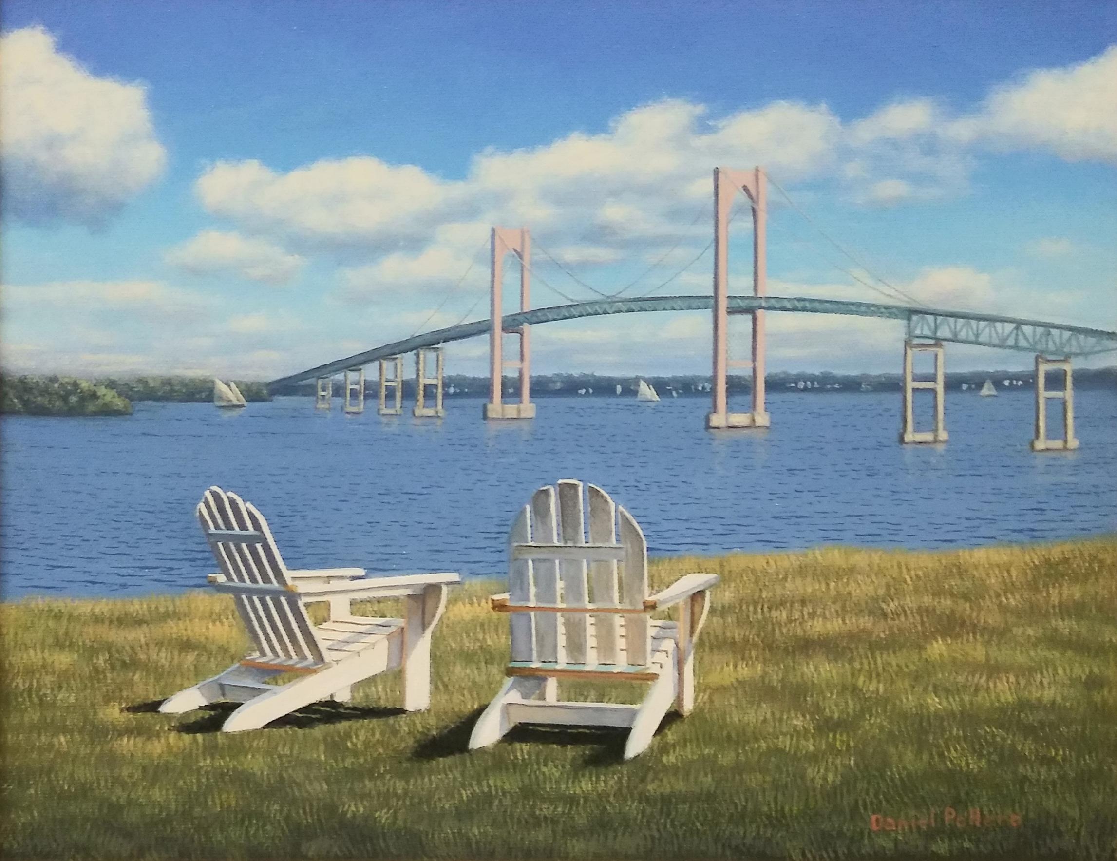 Newport Bridge, 11x14