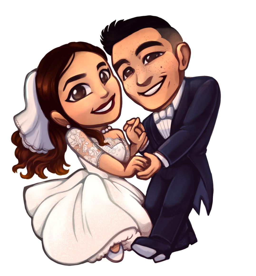 OriginalGshow_Chibi_Wedding_Commission.png