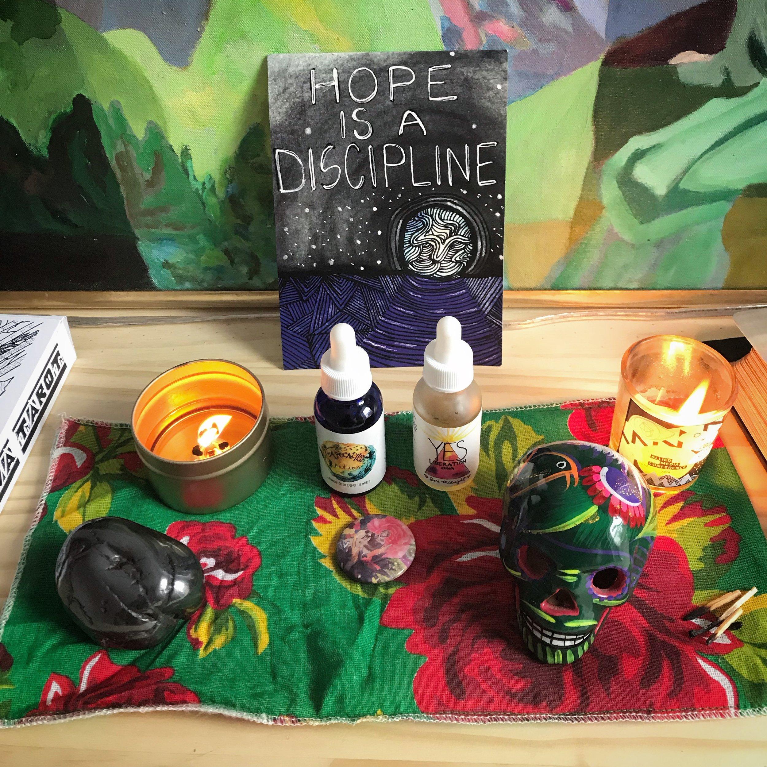 Retreat Hope is a Discipline altar.JPG