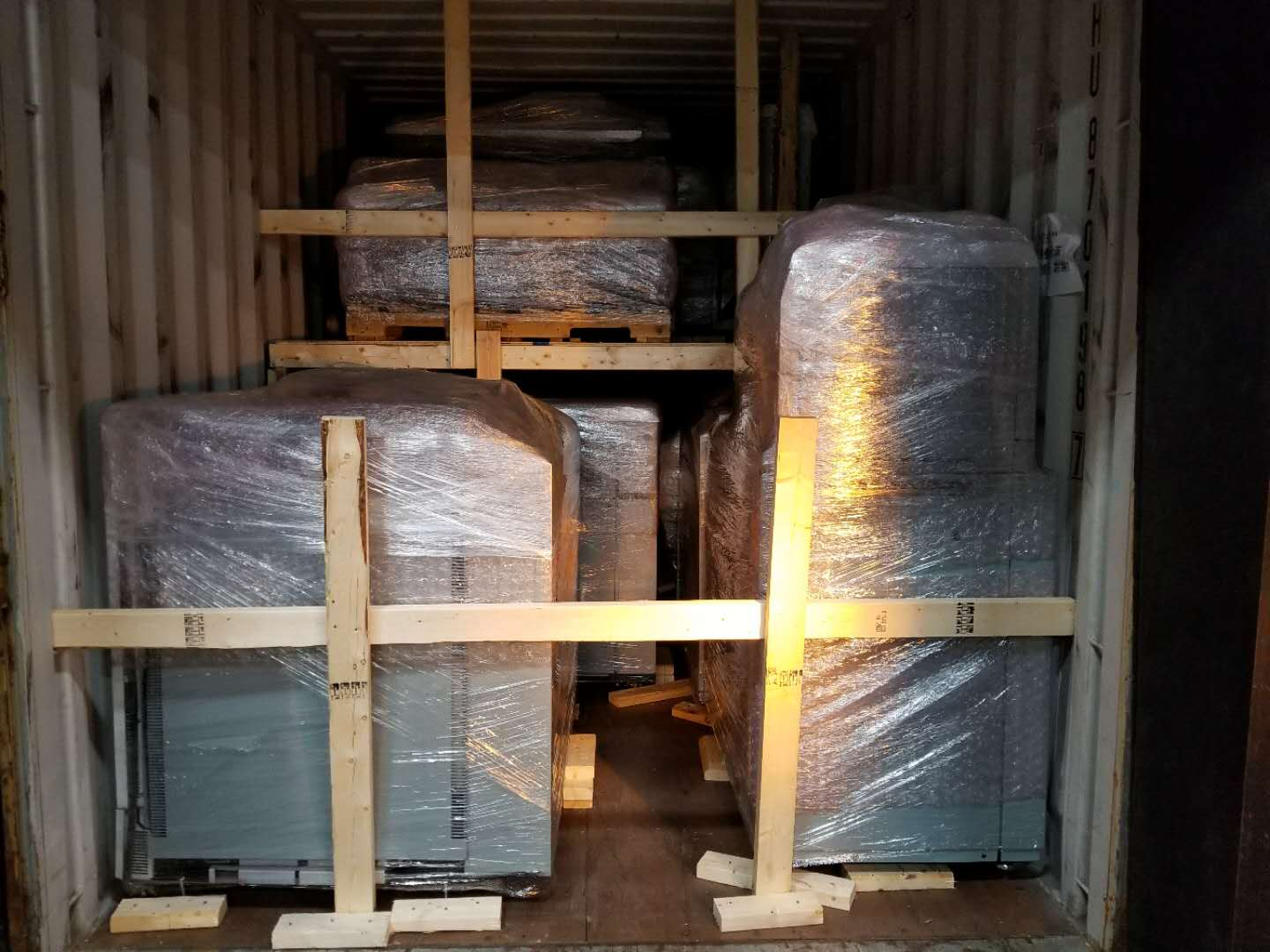 We Export & Build Our Own Containers - Our Professional Warehouse Staff Will Wrap, Protect, And Securely Pack Your Machines.We Build Our Containers From Scratch Using Our Own Team So We Are Able To Offer You Savings Through Our High Quality Packing Services, While Ensuring The Safe Delivery Of Your Machines.