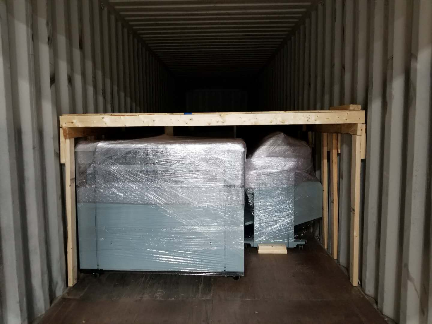 Importing Used Copiers? - We build the container from scratch and create two levels in order to save shipping costs.Our containers are built by our trained staff who make sure that there are no damage during transportation and exporting overseas.
