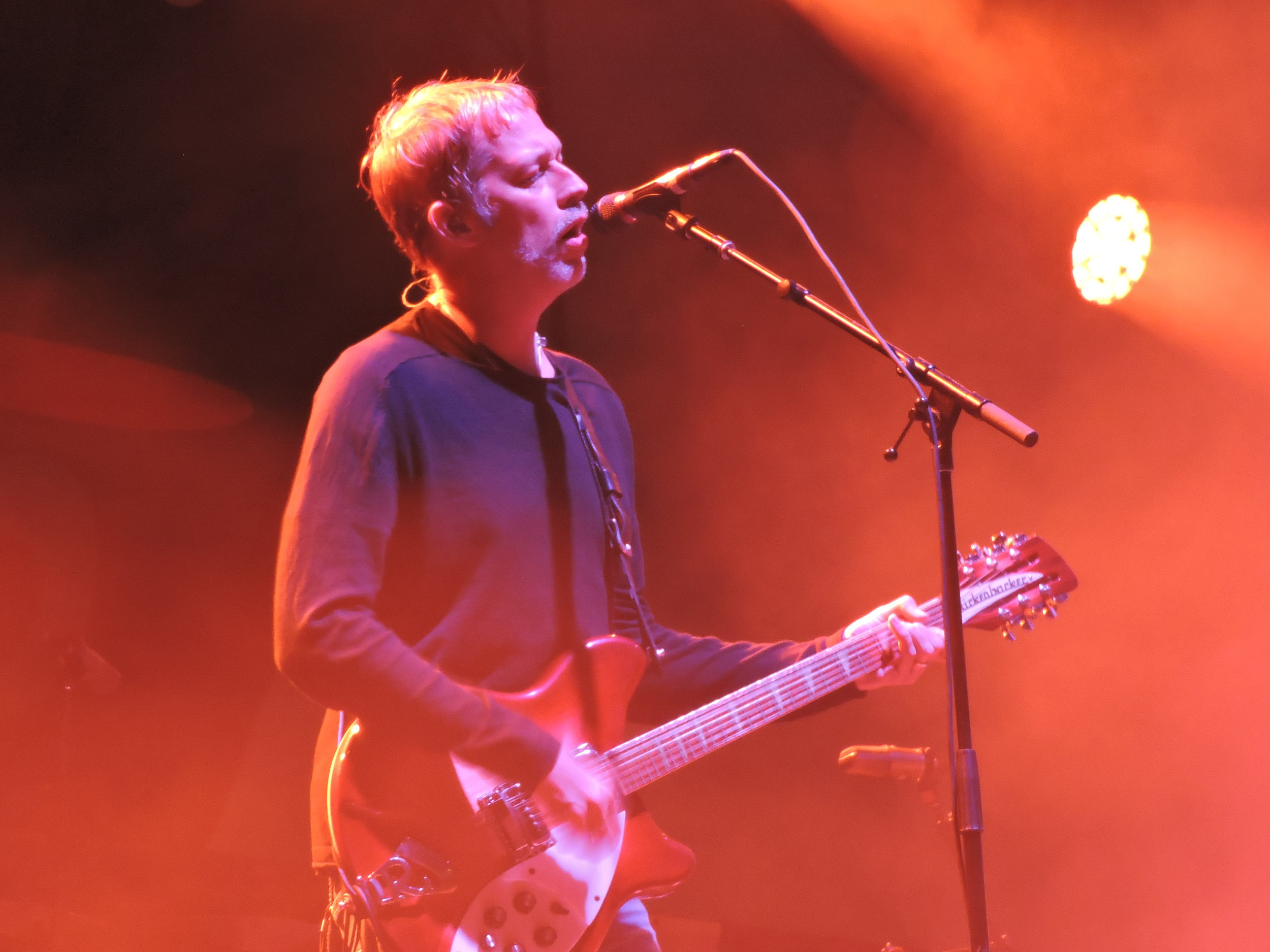 Andy Bell of RIDE at Music Tastes Good Festival 2017. Long Beach, California (Photo by Sophie Pay)