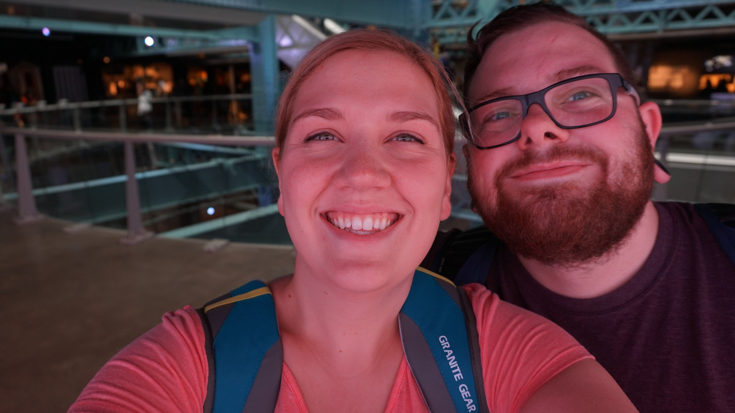 My wife and I at Guinness Brewery in Dublin, Ireland