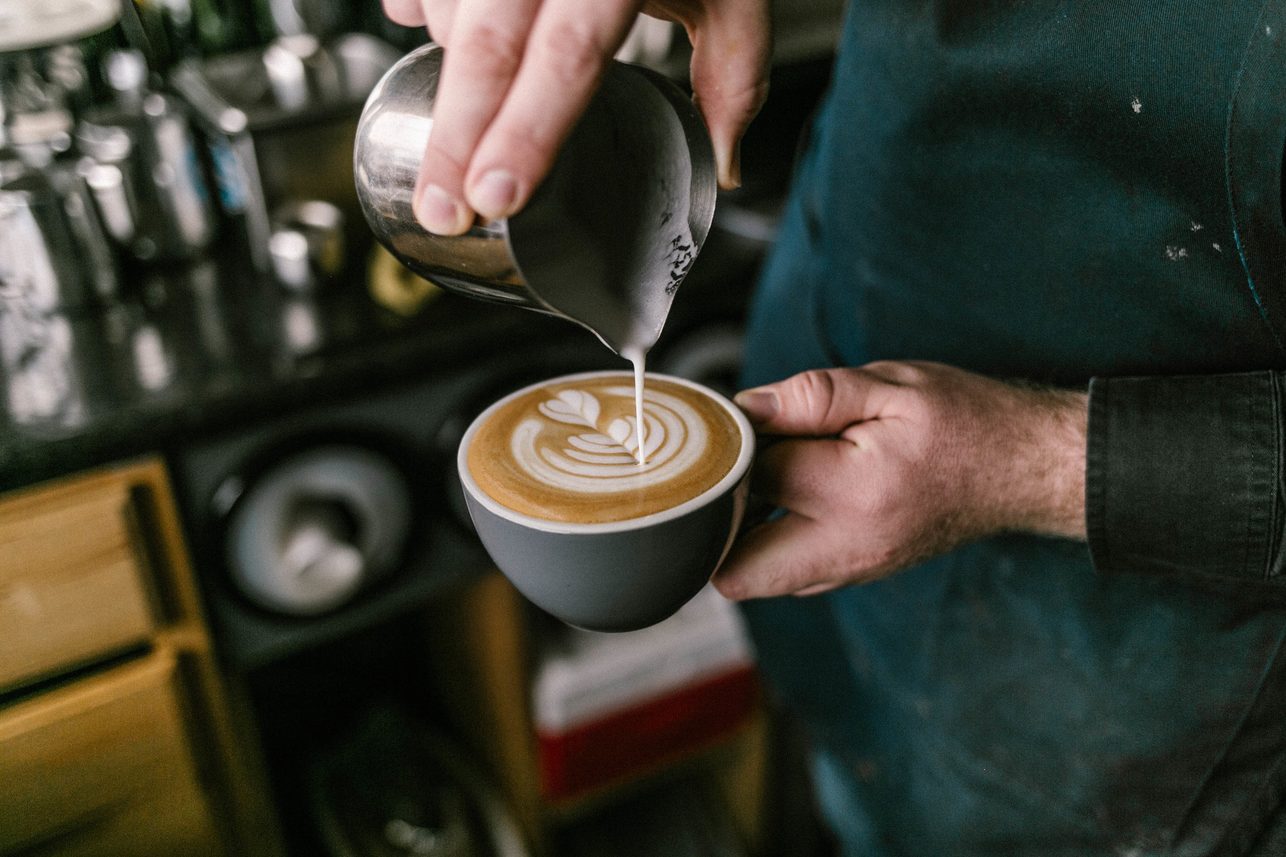 Our recommendation - Specializing in their espresso drinks and pour overs you know you'll always get a great drink. We recommend their weekday breakfast avocado toast or checking our their Barista Collection menu for the most unique coffee drinks in town.