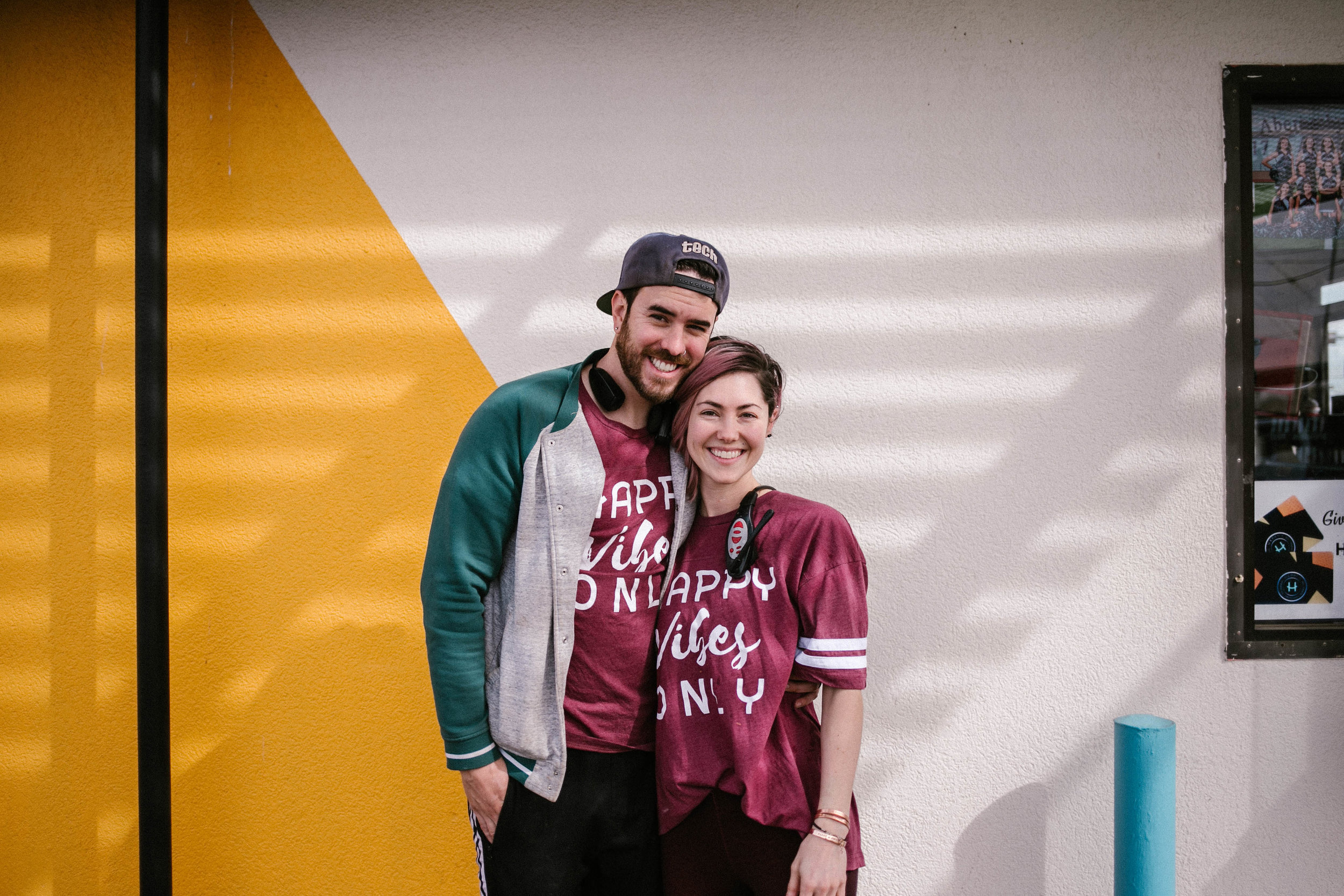 What local and independent means to Tyler & Kaydi -
