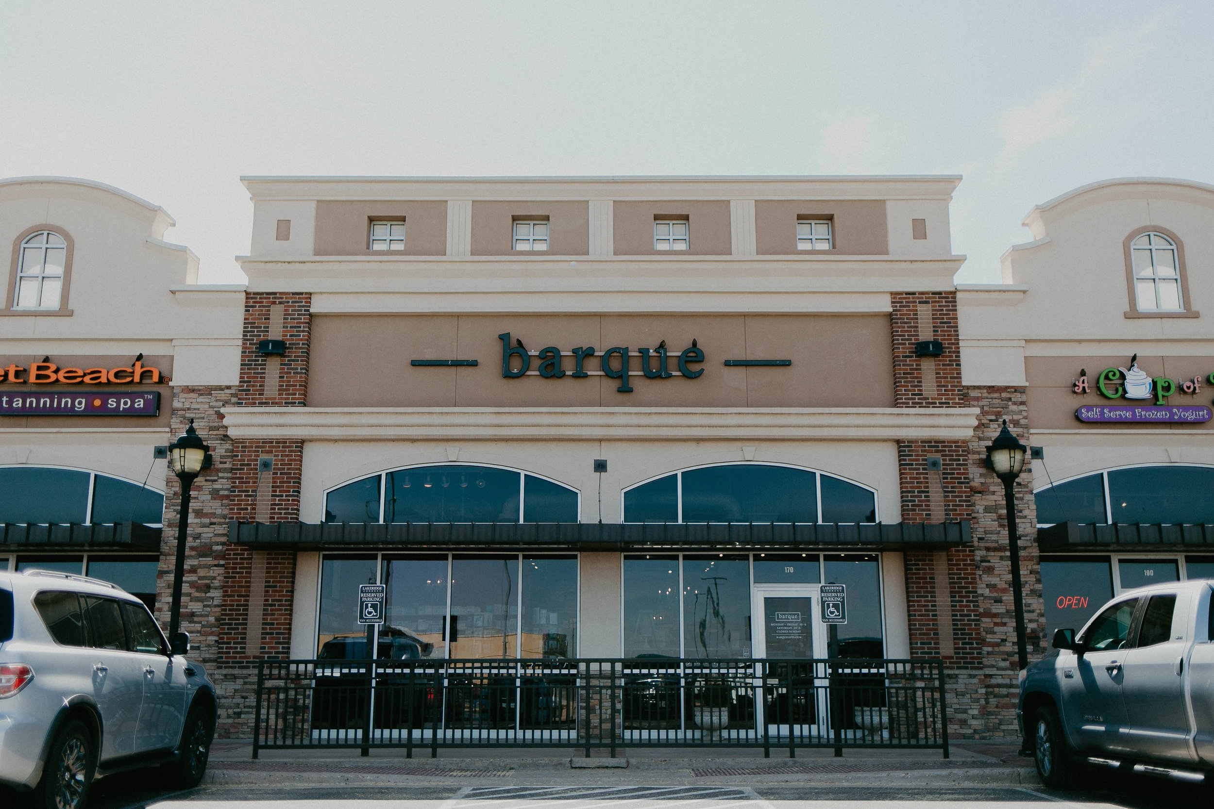 About Barque Gifts - The thought of owning a stationery store was always been a dream for Kandice, while she was attending Texas Tech, she worked at Calligraphy Etc. (the store's previous name), and loved helping people select invitations for events in their lives - weddings, baby showers, birthday parties, and retirements. After a few years she had the opportunity of a lifetime to buy the business and it has been a whirlwind ever since! When she changed the name to Barque, they incorporated more of the things that Kandice loves - like dogs and cooking - and the store continues to evolve to best meet the needs of their customers.