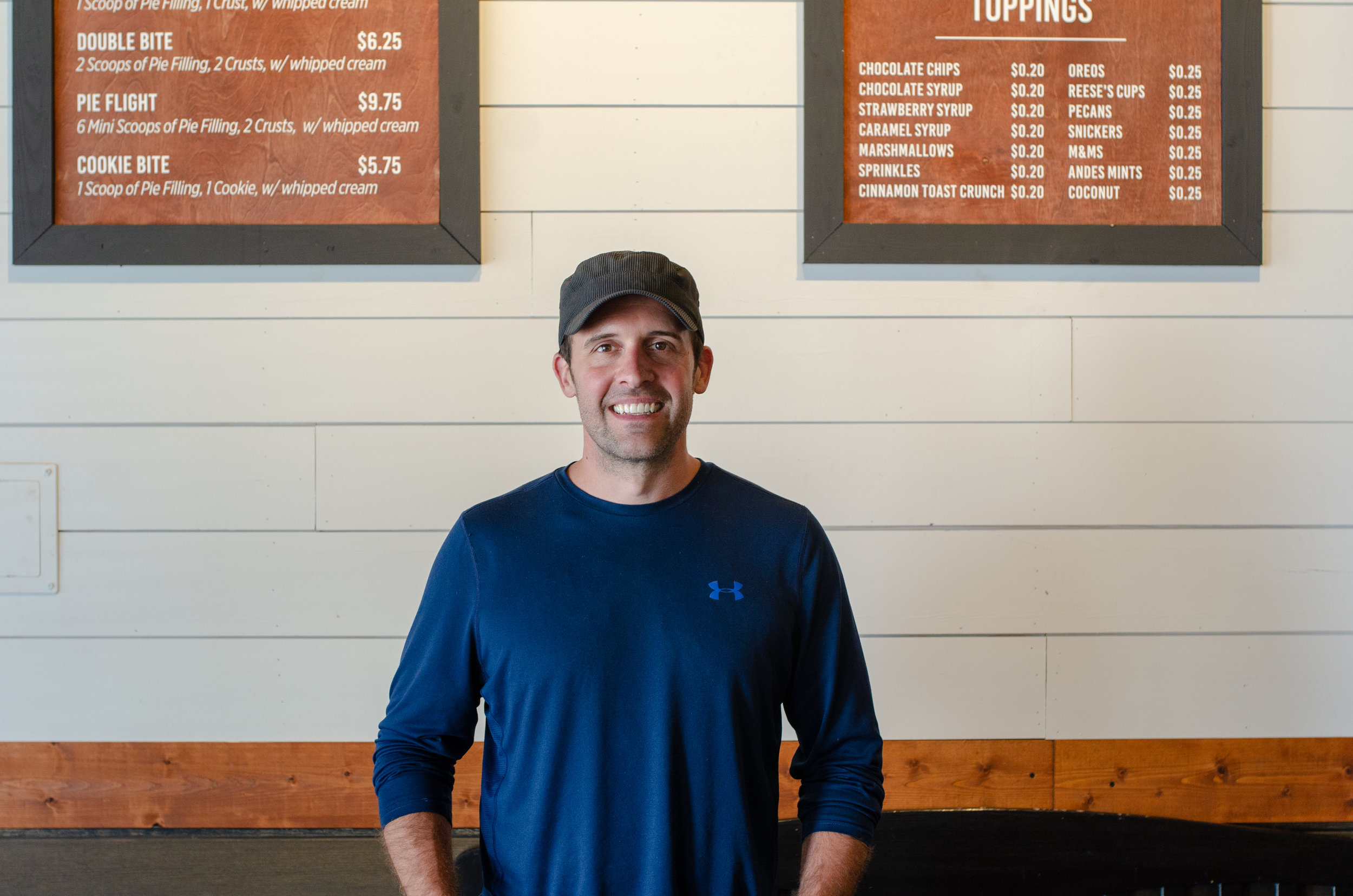 What local and independent means to Carson - Being able to partner with other local businesses by carrying Gold Stripe Coffee, supporting Texas Tech and LCU, and taking care of our customers to make sure they have the best experience possible!