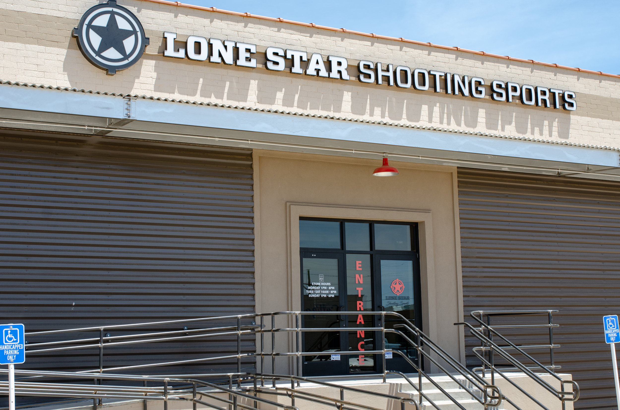 Store info - Phone: (806) 993-2264Location: 6020 43rd StSocial:FacebookWebsite: www.lonestarshootingsports.comHours: Monday1pm - 8pmTuesday - Saturday10am - 8pmSunday1pm - 6pm
