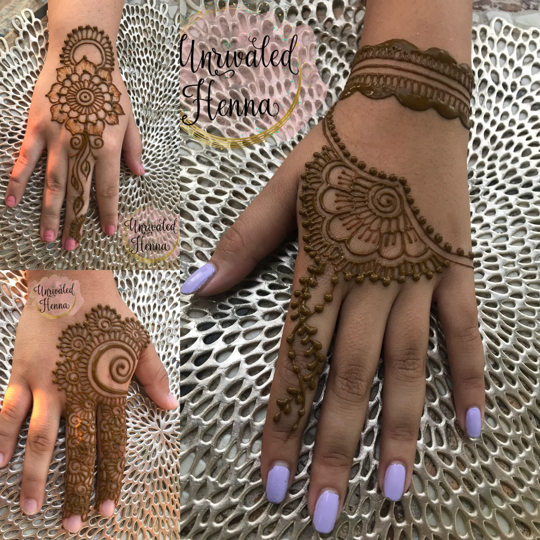 - Madiha was a very special part of my daughter and son-in-law's wedding shower. She was on time, very professional and artistic. Almost all of my guests had their hands done and really loved the added touch. The henna smelled very good and lasted beautifully. - Stephanie (8/5/18)