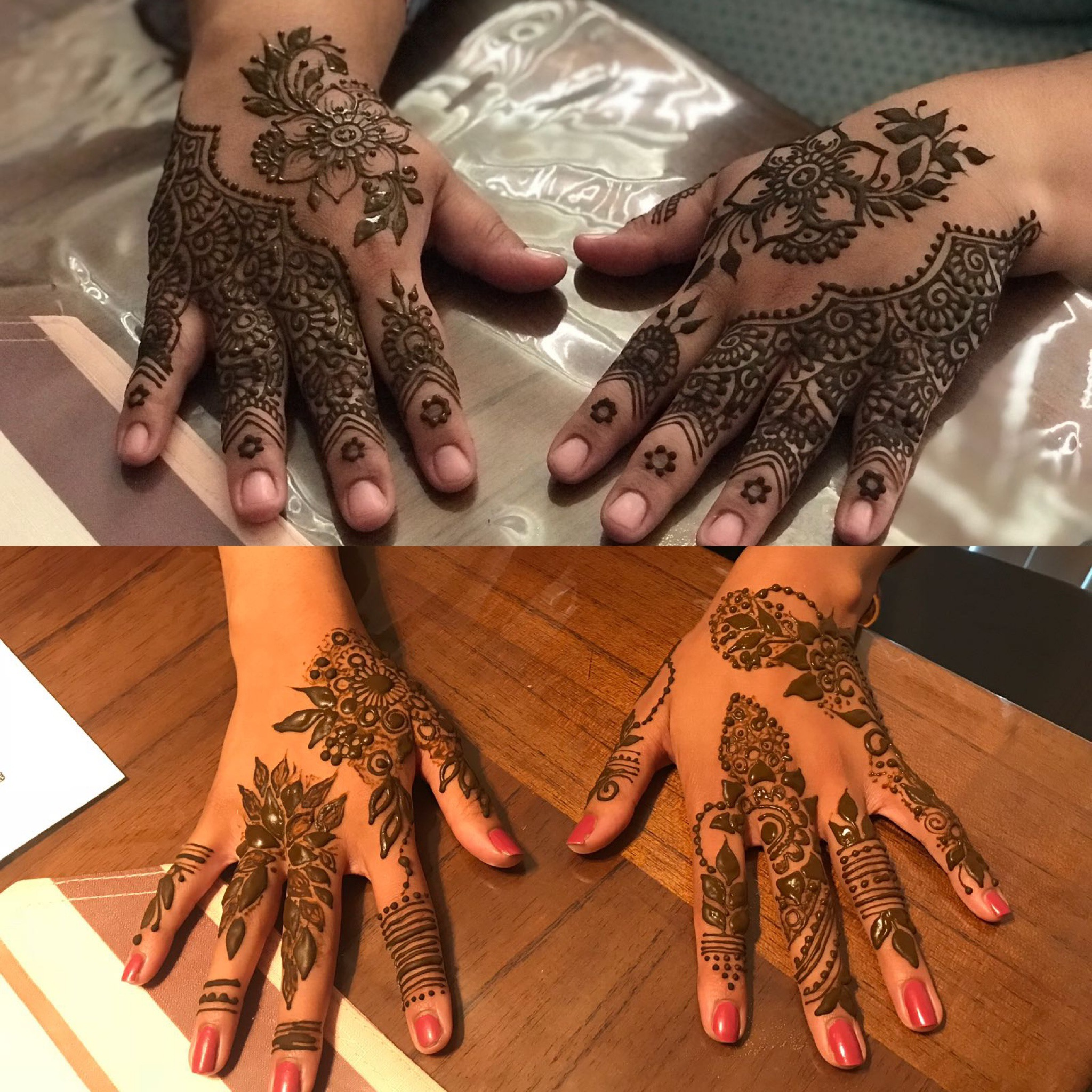 - Madiha is wonderful! So polite, accommodating & well-prepared!Her work is so perfect, others would think its an actual stick on tattoo!So glad I was able to get in touch with Madiha. I will always book Madiha for all our Henna needs !Thank you so much for beautifying our hands :D -Rubina (4/12/18)