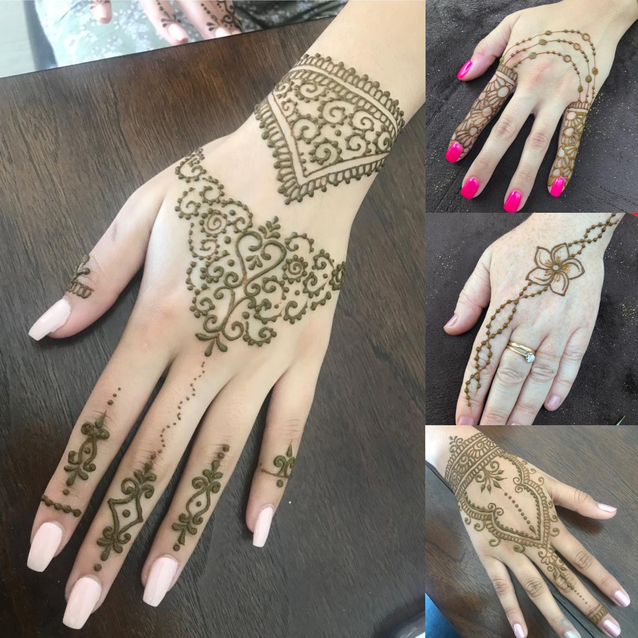 - I hired Madhia for my mendhi function at home and at my sangeet. She was so pleasant to work with and very professional! Everyone loved her. Highly recommend! - Priyanka (9/20/18)