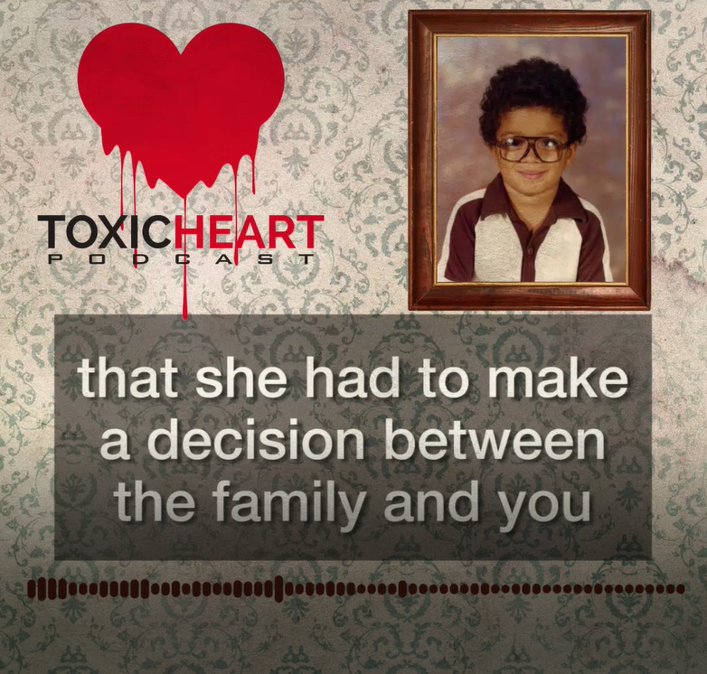 8 - Black Brown &White - *Adult Language* Things get deep at Toxic Heart when a friend of the show, Adam, stops by to discuss being adopted by a parent of a different race, finding out he was adopted, meeting his birth mother and siblings, and reuniting with his father. For more information about adoption and foster care visit