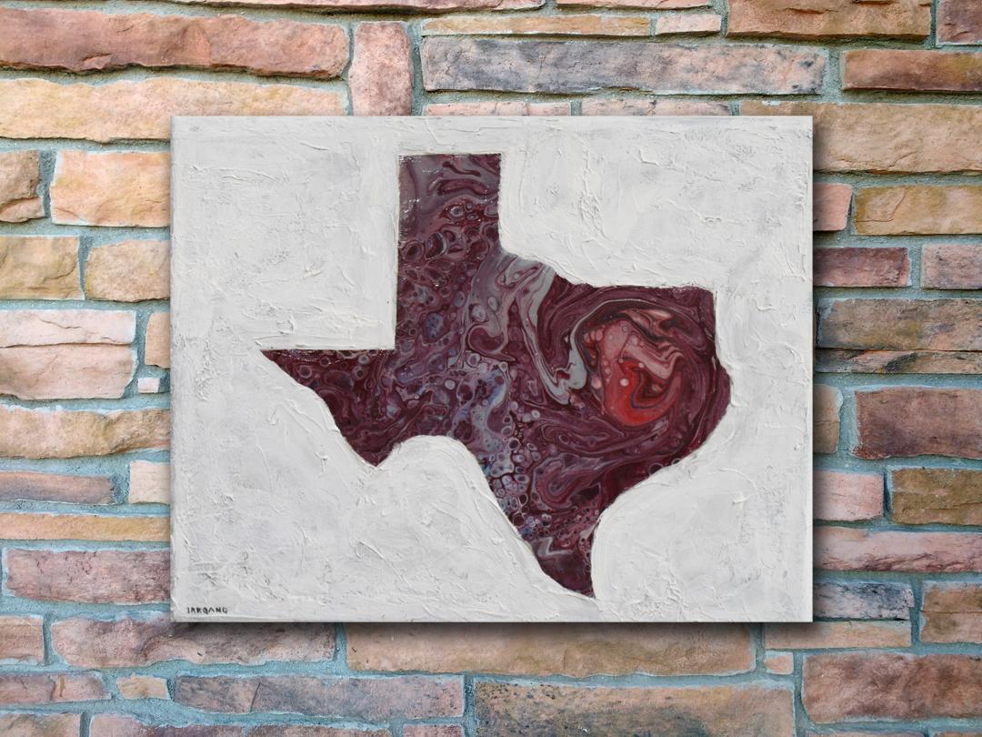 Texas Raw Garnet