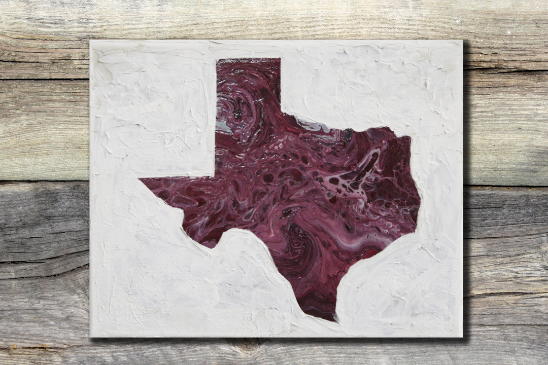 Texas Maroon Agate