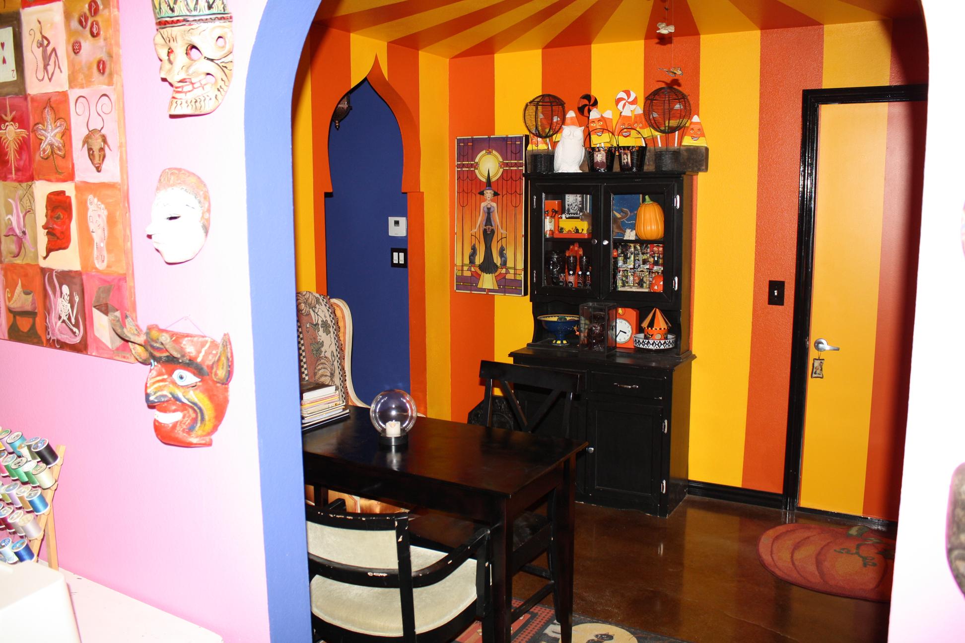 A peek into the Halloween Room