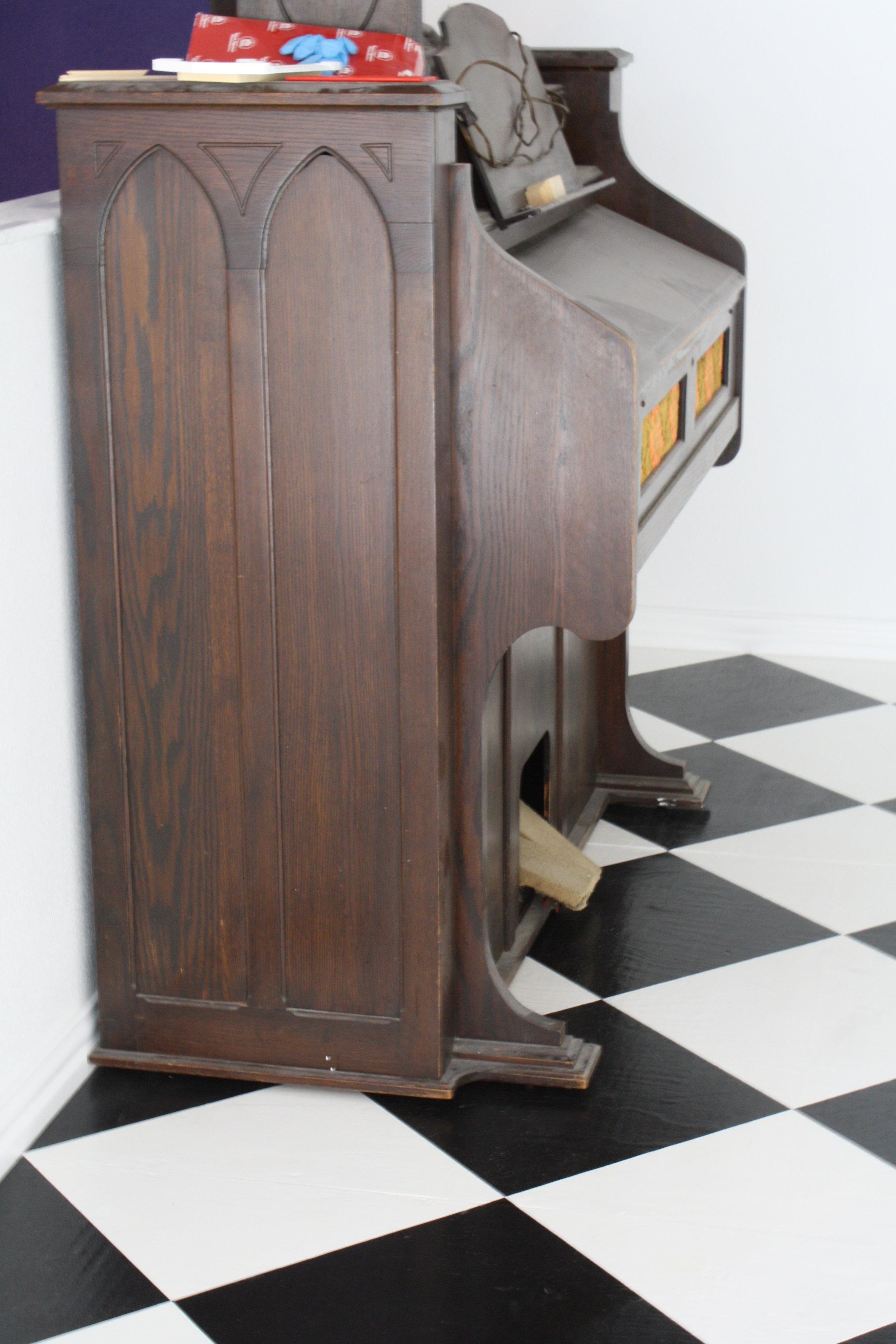 My grandfather's Gothic organ