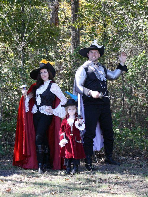 Three Musketeers costumes