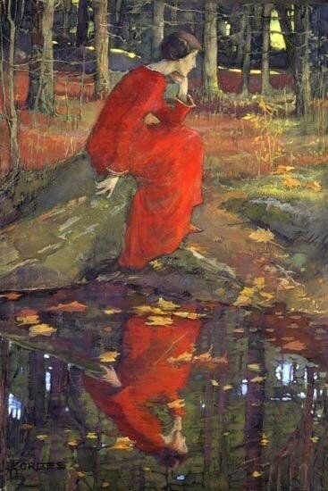 Painting by Elizabeth Stanhope Forbes