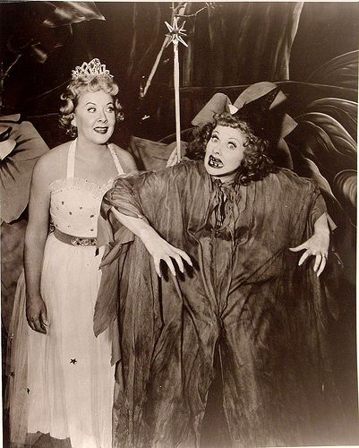 (from 365daysofhalloween)  I can never get enough Lucille Ball!