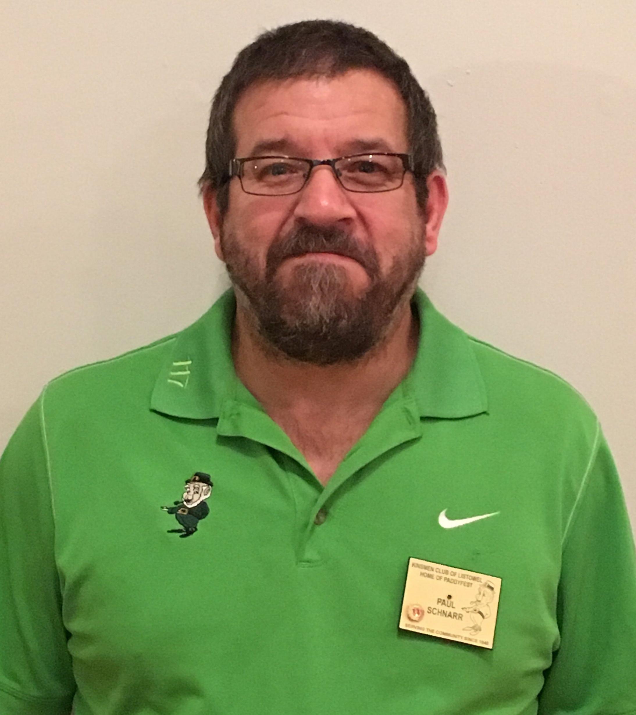 Paul Schnarr Kinsmen District Governor, 10th year Kinsmen Master Technician at Hudson's Listowel Kia