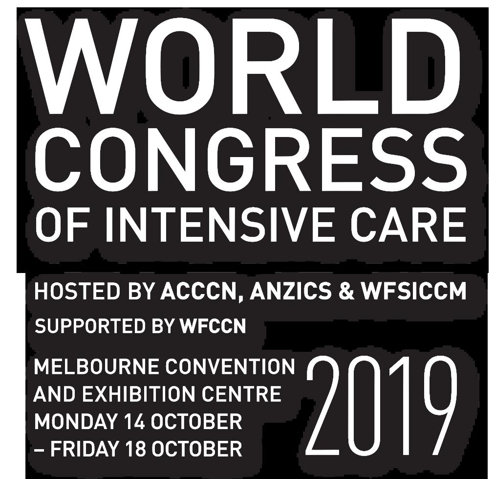 2019 World Congress of Intensive Care