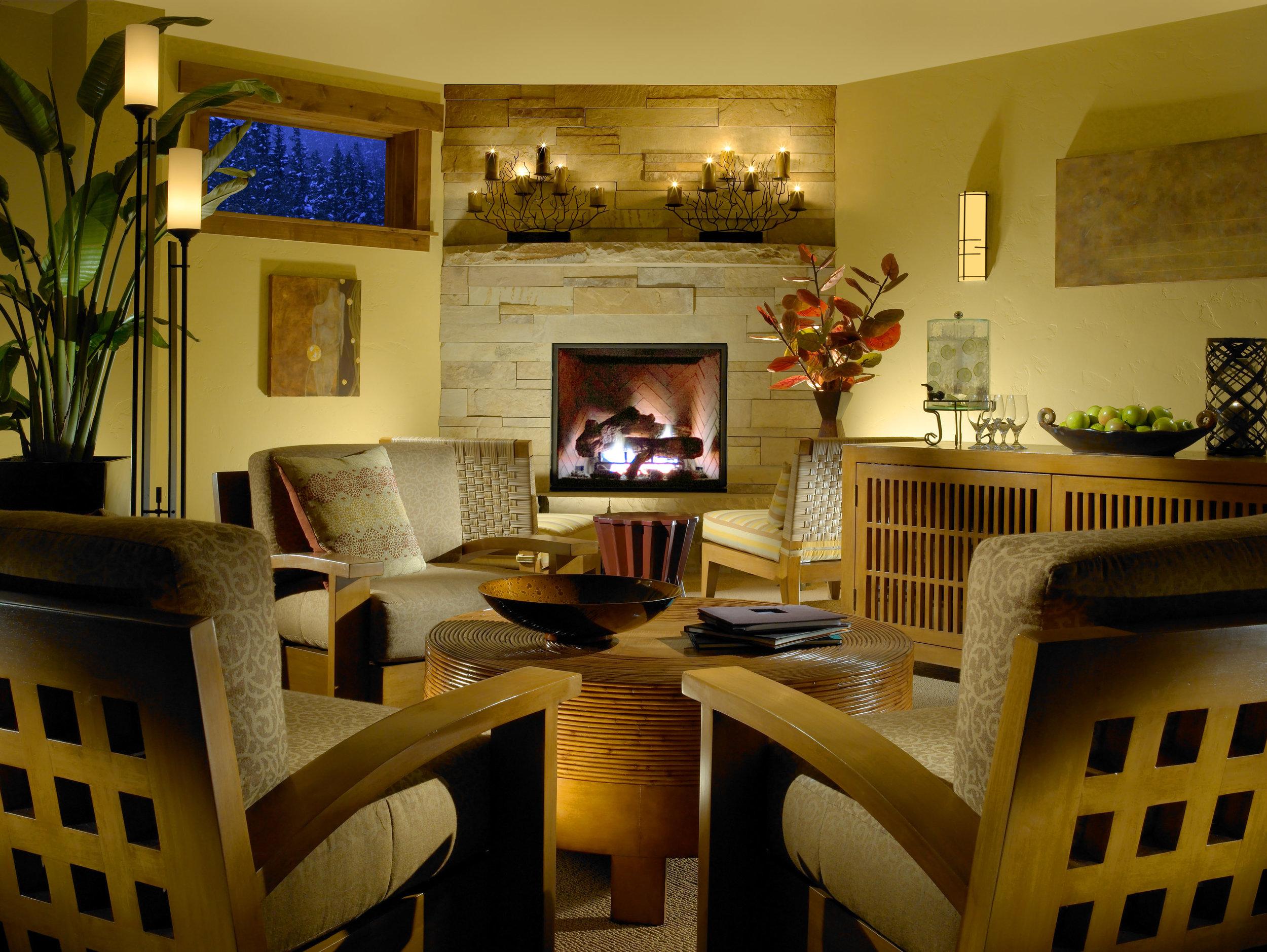 Keystone Lodge Spa: Lounge