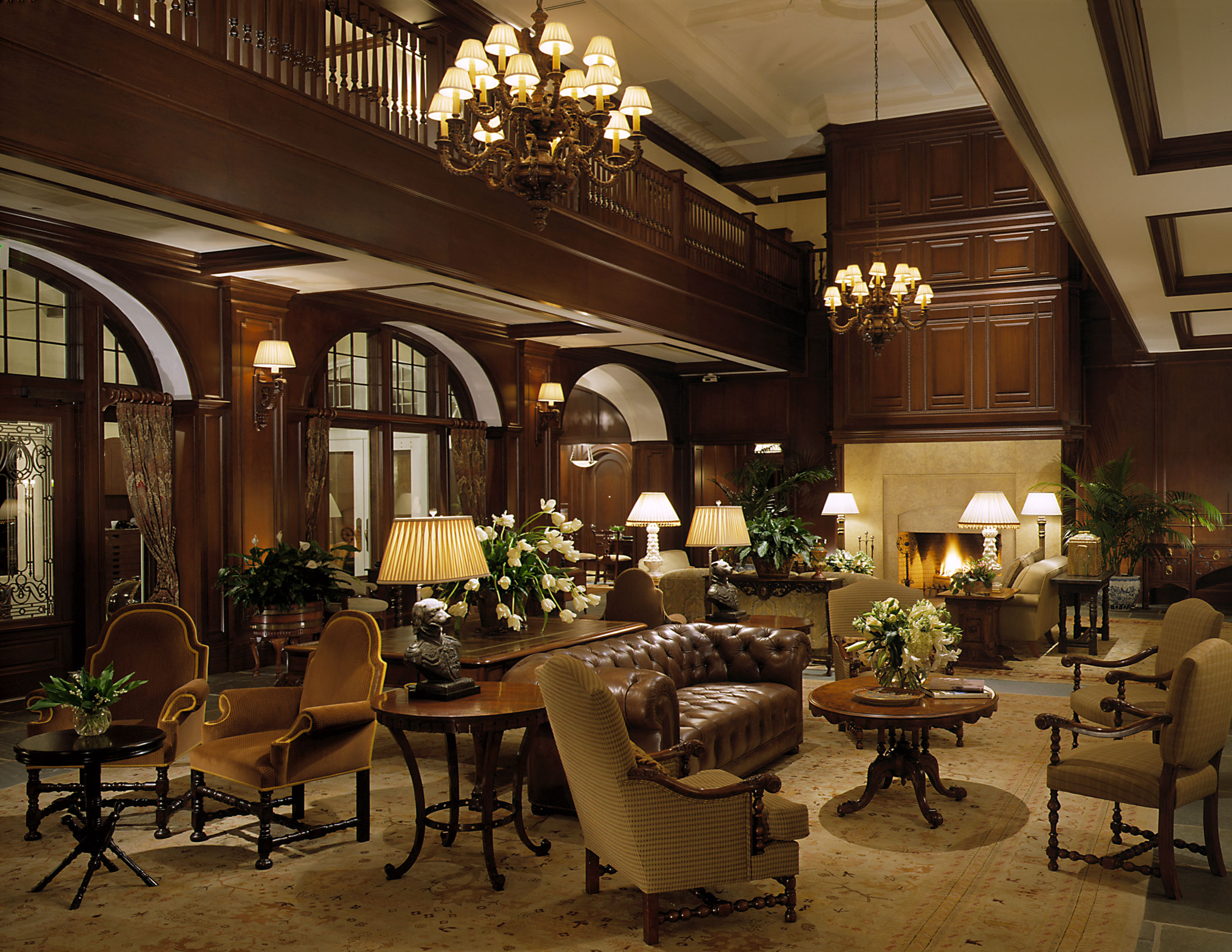Lodge at Sea Island: Living Room