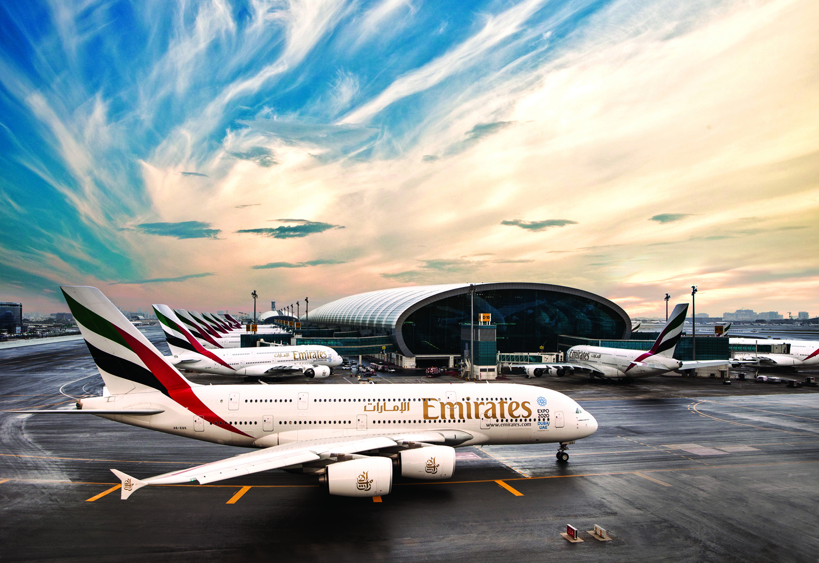 Large expansion plans in the pipeline for Emirates Airline in the next deacde