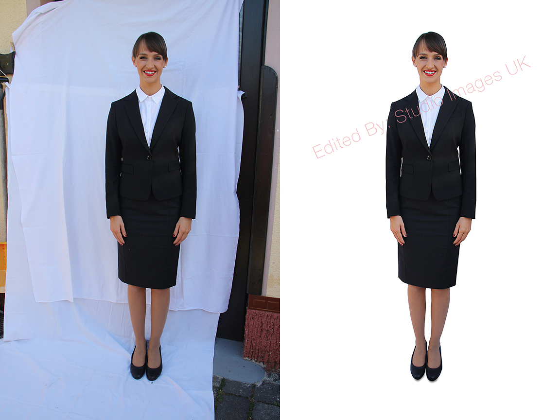 - Emirates or Qatar cabin crew open day - Send us the image on the left, and we will add the white background for you (right).