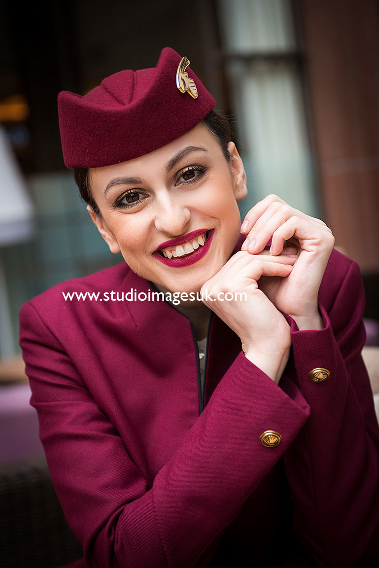 - Look at Qatar's cabin crew job description, then match your work experience on your CV to each of their requirements.