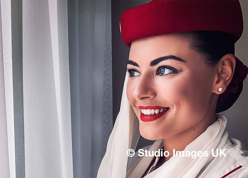 Our client, Pavlina, now a full member of the Emirates Cabin Crew