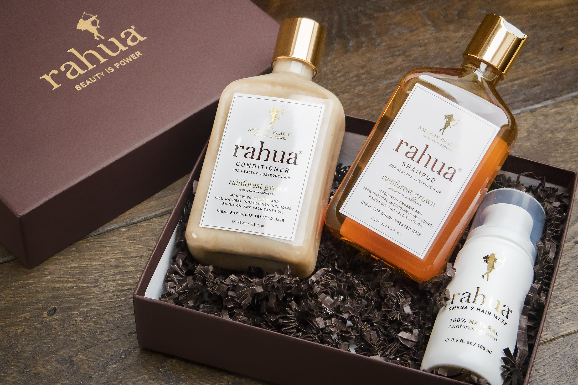 From deep within the Amazon rainforest comes Rahua, an all-natural line infused with the purest and rarest ingredients. The restorative oils found in the rare rahua nut not only rejuvenate and repair the most damaged hair but they also fortify fine weakened hair adding volume and fullness. Rahua is completely free of synthetics, parabens, and sulfates and embodies the elegance of nature and embodies these three values:    Purity • Elegance • Health
