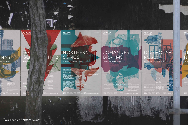 Art of Time Ensemble 2016 Posters
