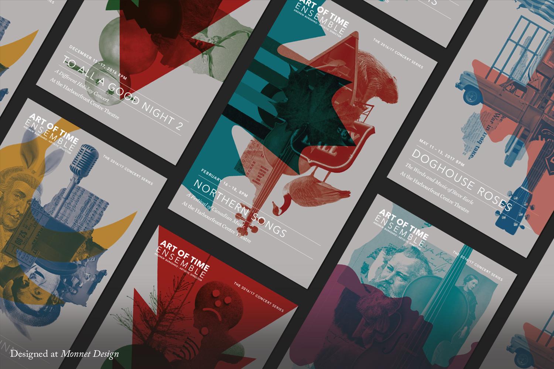 Art of Time Ensemble 2016 Postcards