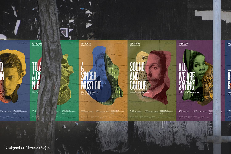 Art of Time Ensemble 2017 Posters