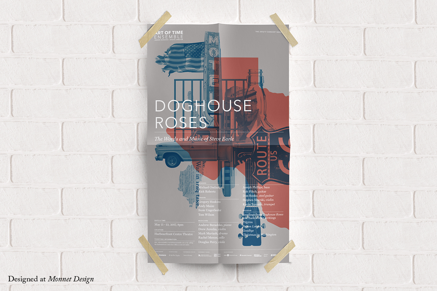 Doghouse Roses Poster