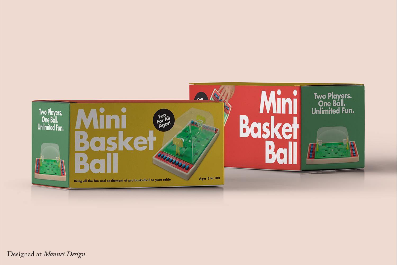 Mini Basketball Packaging