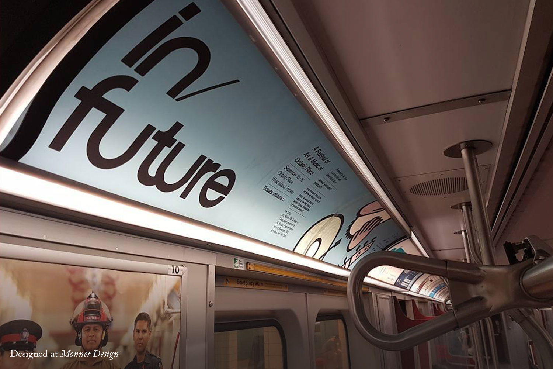 In/Future Subway Advertising