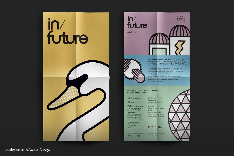 In/Future Media Poster