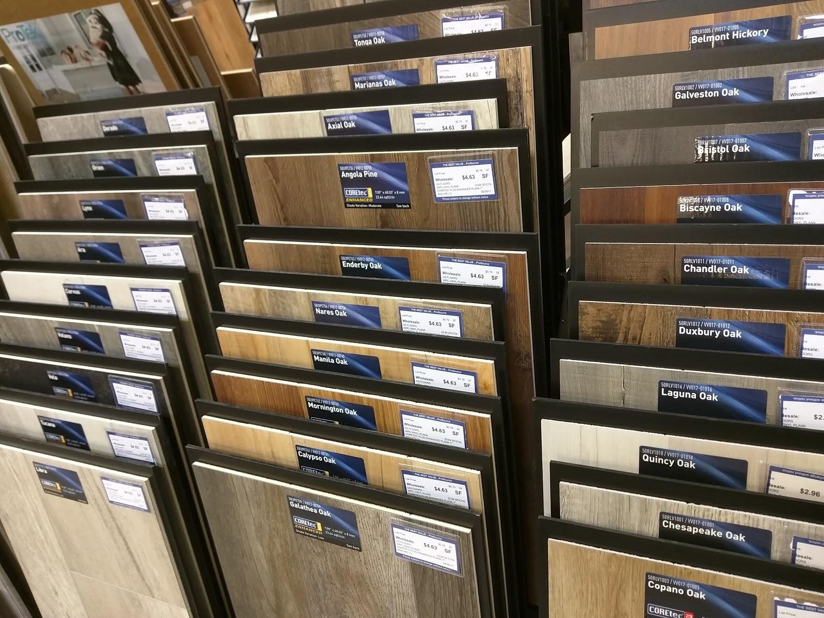 Flooring Displays