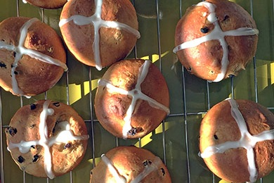 Hot Cross Buns – $12 / dz. -