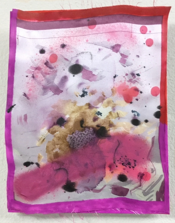 Blanche's Magenta (Sweep), 2016