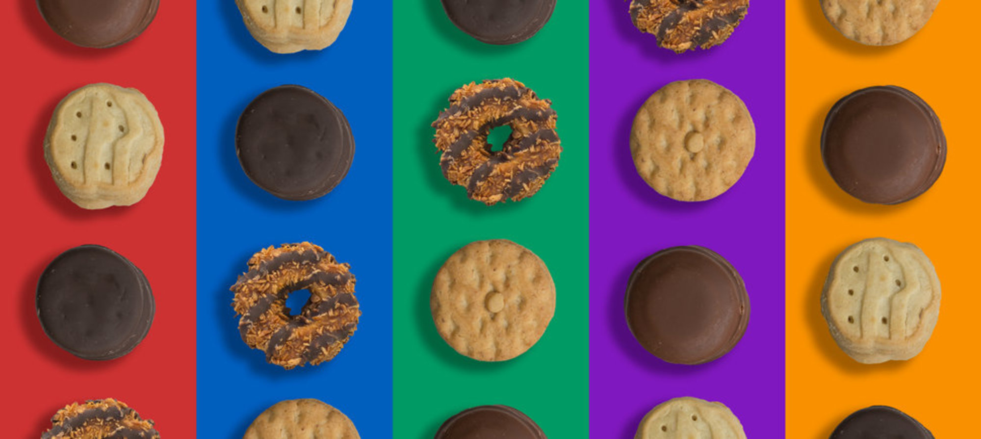 Girl Scout Cookies are offered in 12 tiers of tasty. -