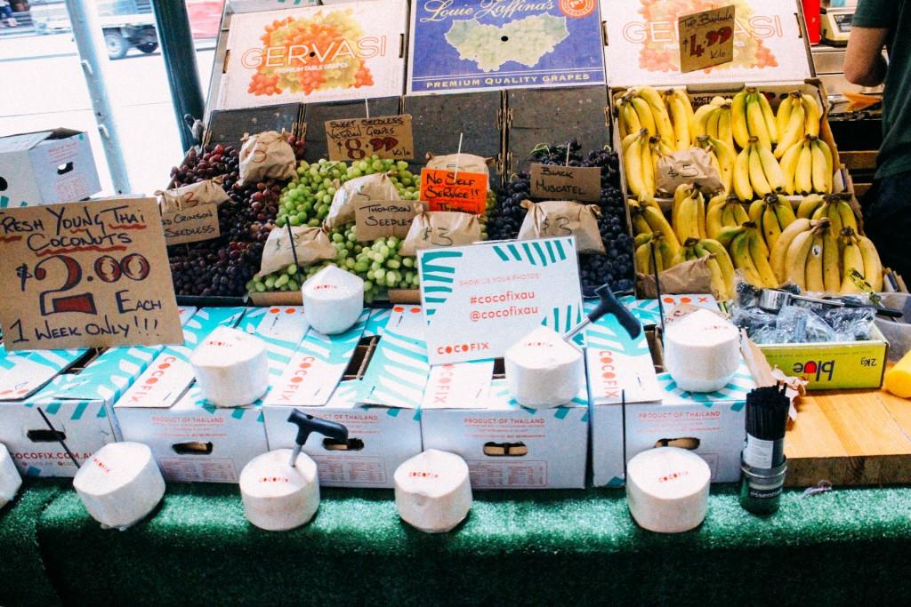 Fresh Fruit Stall on Swanson Street
