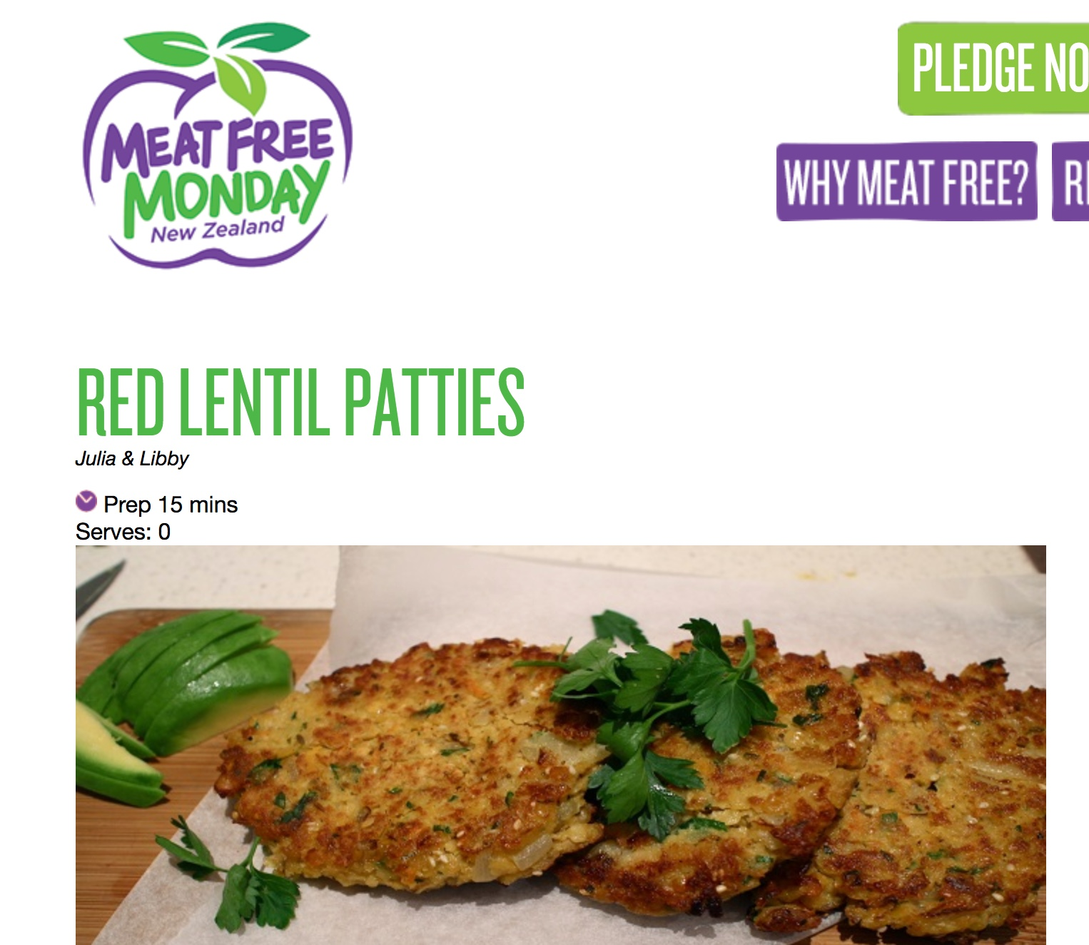 Meat Free Monday -  Read Here
