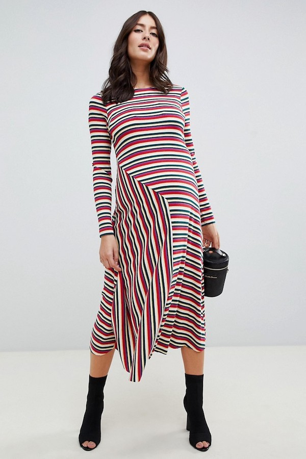Best-New-ASOS-Maternity-Arrivals-Striped-Ribbed-Midi-Dress-Asymmetrical-Hem-Ankle-Boots-Le-Bump-Baby-Blog.jpg