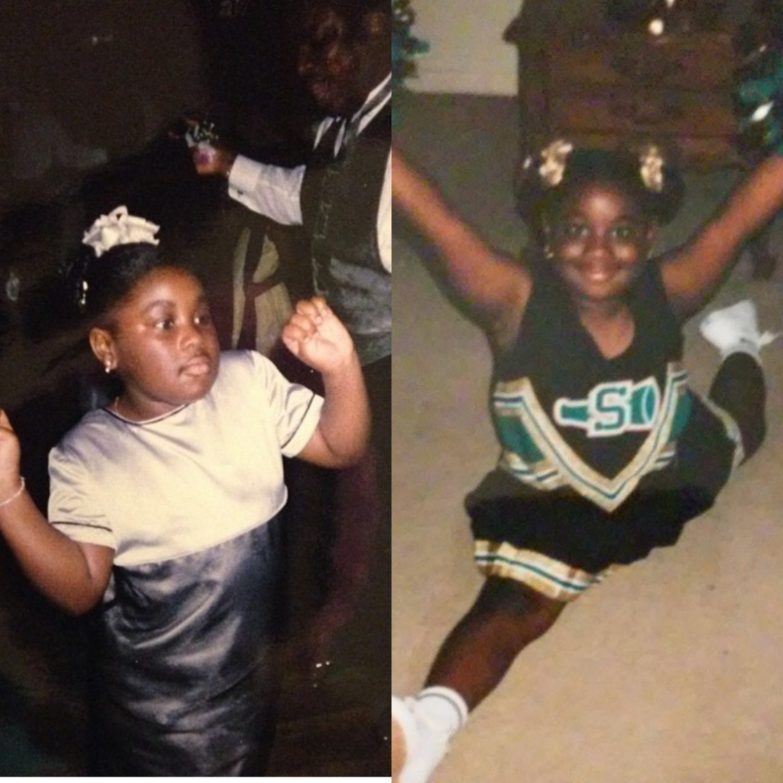 I was so adorable and chubby. I could do a split better then than I can now lol